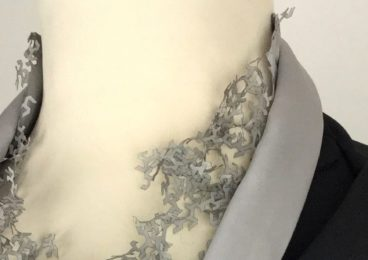 Monika Haas designs Margit Fischer's dress for the Staatsoper's ball 2016