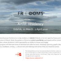 """""""FREEDOMS"""" Artist Residency"""