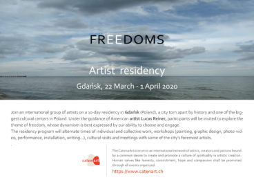 """FREEDOMS"" Artist Residency"